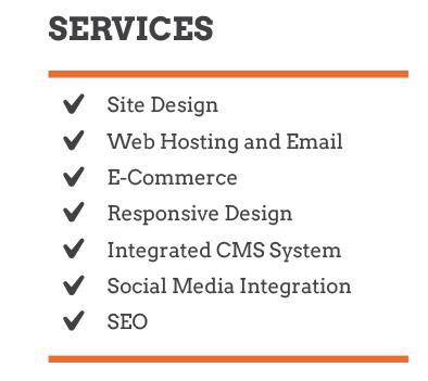 Web Design, Ecommerce, SEO